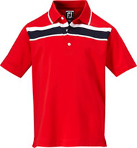 Junior Boy's Stretch Lisle Short Sleeve Polo