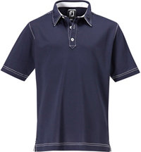 Junior Boy's Stretch Pique Short Sleeve Polo