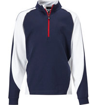 Boy's Brushed Sport Long Sleeve Mock