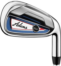 Blue 5-PW,AW,SW Iron Set with Steel Shafts