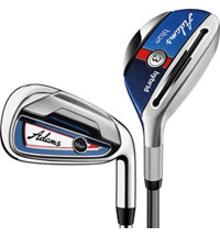 Lady Blue 4H-5H, 6-PW Combo Iron Set with Graphite Shafts