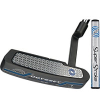 Works Blade Charcoal Putter with Super Stroke Grip