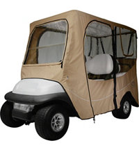 Deluxe Golf Cart Cover - Long Roof