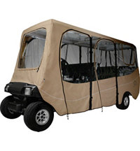 Deluxe Golf Cart Cover - Extra Long Roof