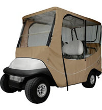 Travel Golf Cart Cover - Long Roof