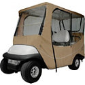 Classic Accessories Travel Golf Cart Cover - Long Roof