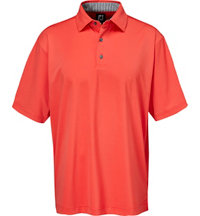 Men's ProDry Solid Lisle Short Sleeve Polo