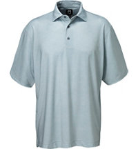 Men's Berkeley Texture Print Short Sleeve Polo