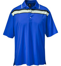 Men's Performance Lisle Stripe Polo