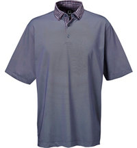 Men's Jupiter Birdseye Woven Short Sleeve Polo