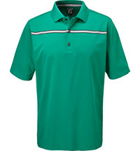 Men's ProdDry Chest Stripe Short Sleeve Polo - Athletic Fit