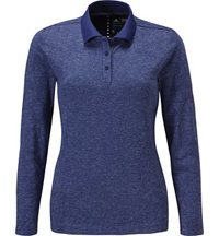 Women's Seamless Long Sleeve Polo