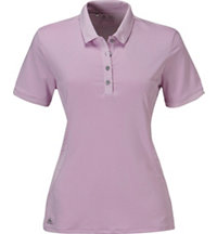 Women's Texture Mix Short Sleeve Polo