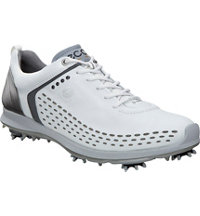 Men's BIOM G2 Spiked Golf Shoes - White/Dark Shadow