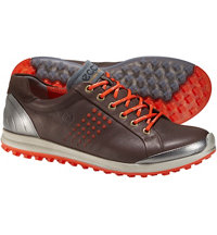 Men's BIOM Hybrid 2 Spikeless Golf Shoe - Mocha/Fire