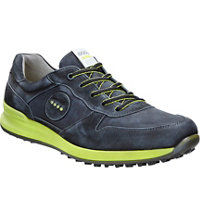 Men's Speed Hybrid Spikeless Golf Shoes - Black/Black/Lime