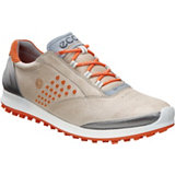 Women's BIOM Hybrid 2 Spikeless Golf Shoes - Oyster/Orange