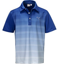 Boy's GT Titan Stripe Short Sleeve Polo