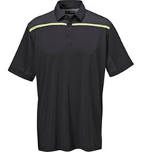 Men's Mesh Block Short Sleeve Polo