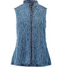 Women's Fuzzy Wuzzy Full-Zip Vest