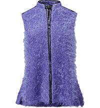 Women's Fuzzy Wuzzy Vest