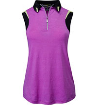 Women's Jezebel Textured Sleeveless Polo