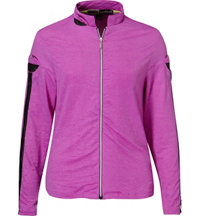 Women's Sunshirt Textured Full-Zip Jacket