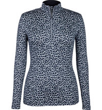 Women's Printed Quarter-Zip Pullover
