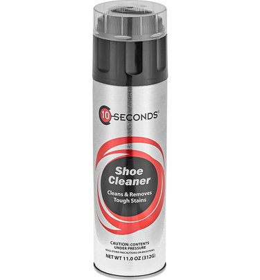 10 seconds shoe cleaner aerosol at golfsmith