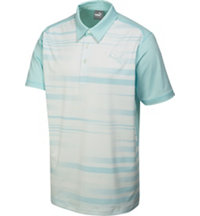 #GOTIME Blur Stripe Polo