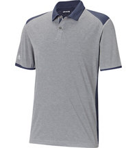 Men's Climachill Heather Blocked Short Sleeve Polo