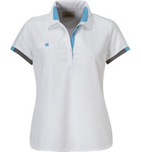 Women's Micro Waffale Short Sleeve Polo