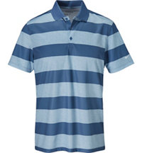 Men's Victory Bold Stripe Short Sleeve Polo
