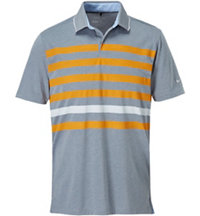 Men's Transistion Stripe Short Sleeve polo