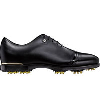 Men's Icon Black Spiked Golf Shoes - Black (FJ# 54043)