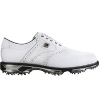 Men's DryJoys Tour Spiked Golf Shoes - White (FJ# 53673)