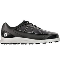 Men's Superlites Spikeless Golf Shoe - Black/Silver (FJ# 58003)