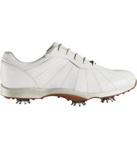 Women's Embody Spiked Golf Shoes - White (FJ# 96100)