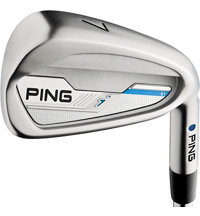 I 4-PW, UW Iron Set with Steel Shafts