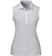 Women's Victory Stripe Sleeveless Polo