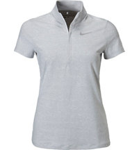 Women's Ace Stripe Short Sleeve Mock