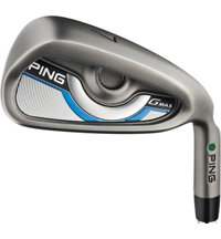 GMAX 4-PW, UW Iron Set with Steel Shafts - Green Dot Plus 1 Inch