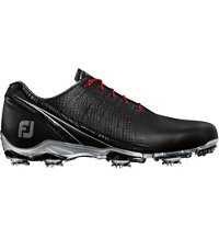Men's D.N.A Spiked Golf Shoes - Black/Silver (FJ# 53385)