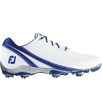 Men's DNA Spiked Golf Shoes - White/Blue (FJ# 53384)