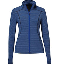 Women's Essential Stripe Full-Zip Jacket