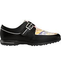 Women's Tailored Collection Spiked Golf Shoes - Black/Graffiti (FJ# 91651)