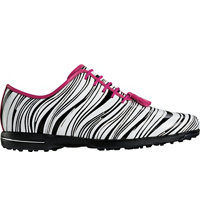 Women's Tailored Collection Spiked Golf Shoes - Zebra/Fuschia