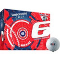 Bridgestone E6 USA Limited Edition Golf Balls