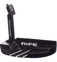 Commander Satin Black Putter