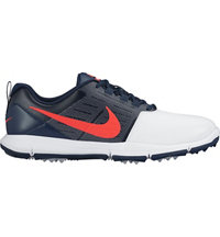 Men's Explorer SL Spikeless Golf Shoes - White/Bright Crimson/Obsidian